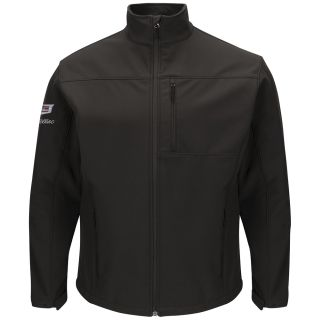 Cadillac Mens Deluxe Soft Shell Jacket - 3109BK-