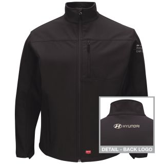 Hyundai Assurance Car Care Mens Deluxe Soft Shell Jacket - 3124BK-