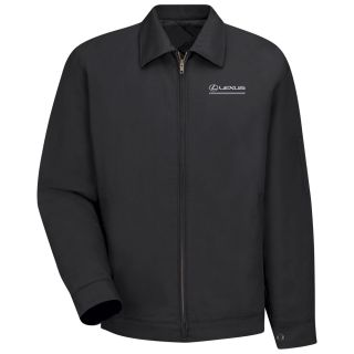 Lexus Slash Pocket Technician Jacket - 3131BK-