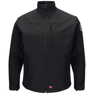 Lincoln M Soft Shell Jacket - BK-Red Kap®