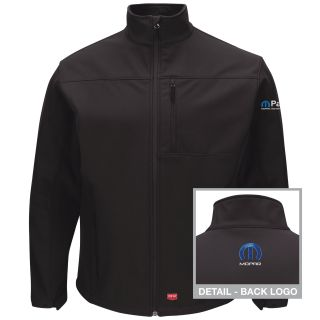 Mopar Mens Deluxe Soft Shell Jacket - 3144BK-