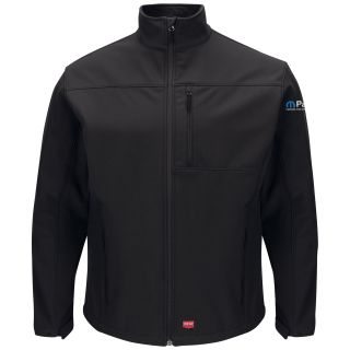 Mopar Mens Deluxe Soft Shell Jacket - 3145BK-