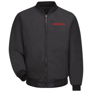 Nissan Solid Team Jacket - 3156BK-Red Kap®