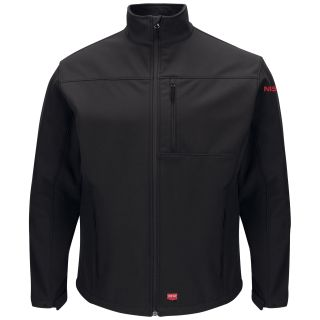Nissan Mens Deluxe Soft Shell Jacket - 3158BK-