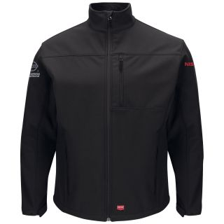 Nissan Mens Deluxe Soft Shell Jacket - 3159BK-