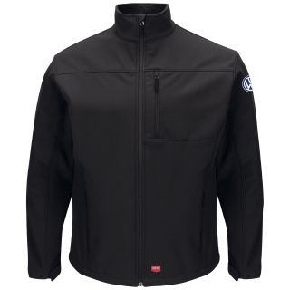 Volkswagen Mens Deluxe Soft Shell Jacket - 3174BK-
