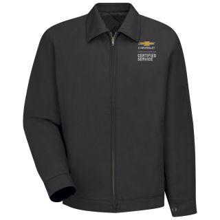 Chevrolet Lined Slash Pocket Jacket - 3182BK-