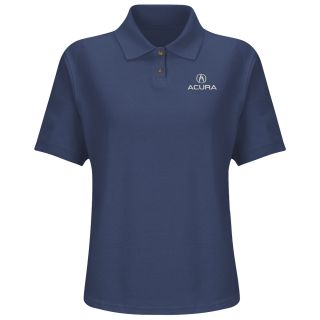 Acura Womens Short Sleeve Performance Knit Flex Series Pro Polo - 5101NV-