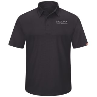 Acura Accelerated Mens Performance Knit Flex Series Pro Polo - 5105BK-Red Kap®