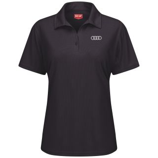 Audi Womens Short Sleeve Performance Knit® Flex Series Pro Polo - 5115BK-