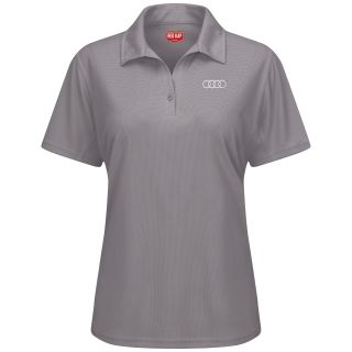 Audi Womens Short Sleeve Performance Knit® Flex Series Pro Polo - 5116GY-