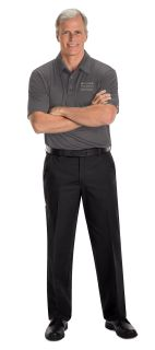 Hyundai Assurance Car Care Mens Short Sleeve Performance Knit® Flex Series Pro Polo - 5186GY-