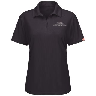 Hyundai Assurance Car Care Express Womens Short Sleeve Performance Knit® Flex Series Pro Polo - 5194BK-