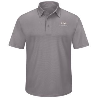 Infiniti Mens Performance Knit® Short Sleeve Flex Series Pro Polo - 5197GY-Red Kap®