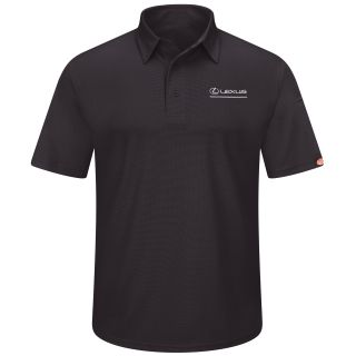 Lexus Mens Short Sleeve Performance Knit® Flex Series Pro Polo - 5217BK-