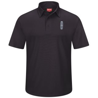 Lincoln Mens Short Sleeve Performance Knit Flex Series Pro Polo - 5223BK-Red Kap®