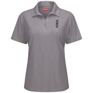 Lincoln Womens Short Sleeve Performance Knit Flex Series Pro Polo - 5225GY-