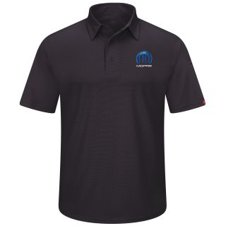 Mopar Mens Short Sleeve Performance Knit Flex Series Pro Polo - 5238BK-