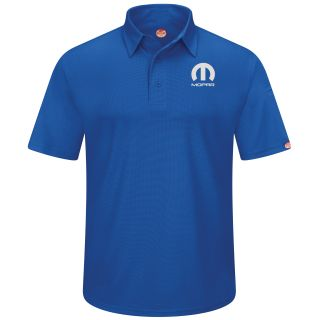 Mopar Mens Short Sleeve Performance Knit Flex Series Pro Polo - 5241RB-
