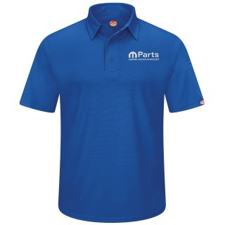 Mopar Mens Short Sleeve Performance Knit Flex Series Pro Polo - 5242RB-