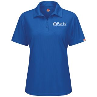 Mopar Womens Short Sleeve Performance Knit Flex Series Pro Polo - 5252RB-