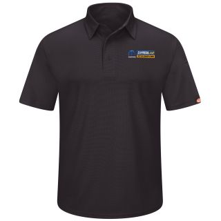 Mopar Express Lane Mens Short Sleeve Performance Knit Flex Series Pro Polo - 5275BK-