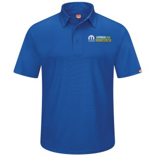 Mopar Express Lane Mens Short Sleeve Performance Knit Flex Series Pro Polo - 5287RB-