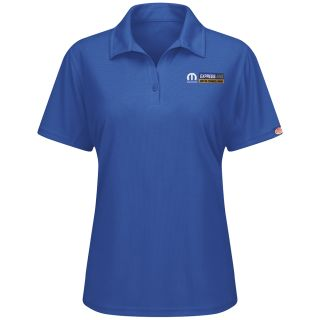 Mopar Express Lane Womens Short Sleeve Performance Knit Flex Series Pro Polo - 5290RB-