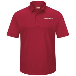 Nissan Mens Short Sleeve Performance Knit® Flex Series Pro Polo - 5405RD-