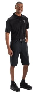 Genesis Mens Short Sleeve Performance Knit Flex Series Pro Polo - 5417BK-