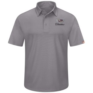 Cadillac Mens Performance Knit Flex Series Pro Polo - 5434GY-