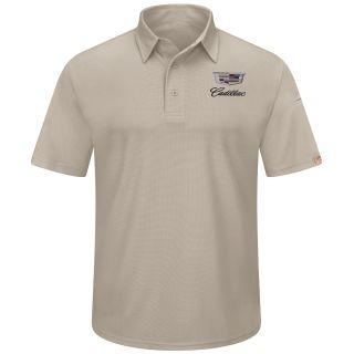 Cadillac Mens Performance Knit Flex Series Pro Polo - 5435TN-