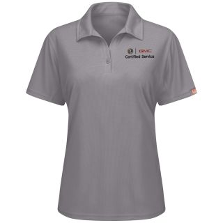 Buick GMC Womens Performance Knit Flex Series Pro Polo - 5443GY-