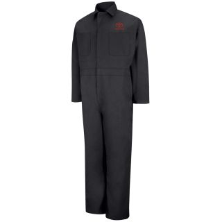 Toyota M LS Action Back Coverall - BK-Red Kap®