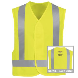 Chevrolet Hi-Visibility Safety Vest-Red kap