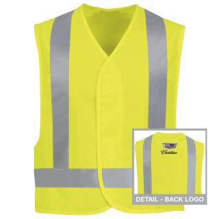Cadillac Hi-Visibility Safety Vest-Red Kap®