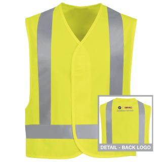 Buick GMC Hi-Visibility Safety Vest-Red kap