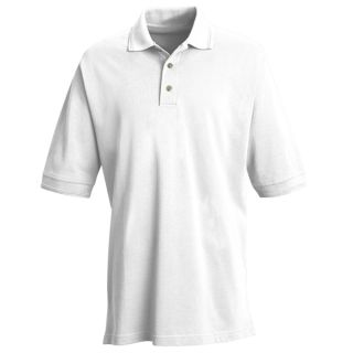 Mens Basic Pique Polo