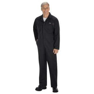 Audi Assist Twill Action Back Coverall - 8100BK-Red Kap®