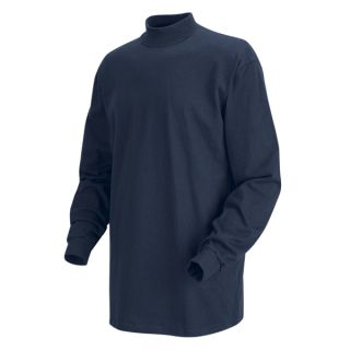 Long Sleeve Mock Turtleneck-Red kap