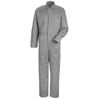 Snap-front Cotton Coverall-