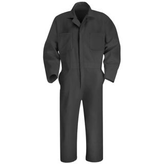 Twill Action Back Coverall-