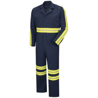 Enhanced Visibility Action Back Coverall-Red Kap®