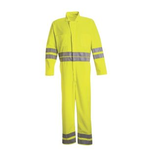 Hi-Visibility Zip-Front Coverall-Red Kap®