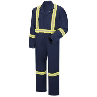 Enhanced Visibility Zip Front Coverall-