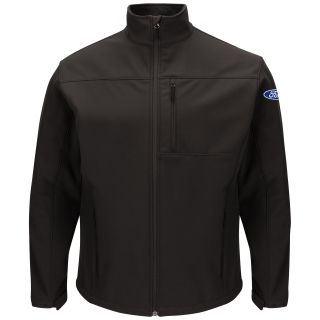 Ford Mens Deluxe Soft Shell Jacket - FP68BK-