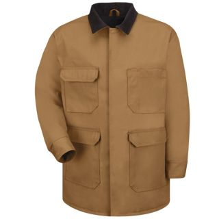 Blended Duck Chore Coat-Red kap