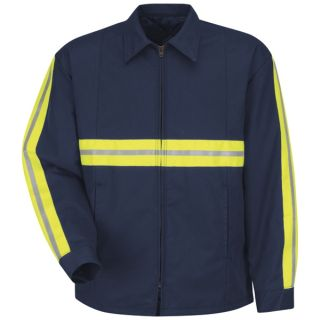 Enhanced Visibility Perma-Lined Panel Jacket-Red Kap®