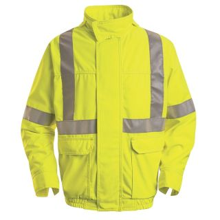 Hi-Visibility Bomber - Class 2 Level 2-Red Kap®