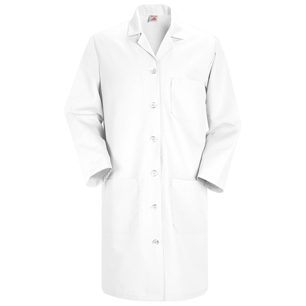 KP13 Women's Red Kap Lab Coat for Mayo Employee-